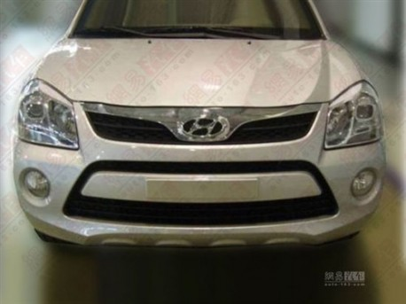 Spy Shots: facelift for the Hyundai Tucson in China