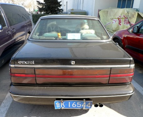 Spotted in China: Kia Concord GTX 2.0i