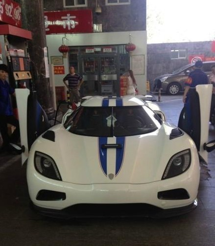 Koenigsegg Agera R needs some Juice in China