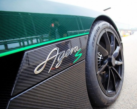 Koenigsegg Agera S is Green in China