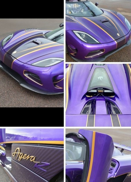 For China Only: the one-off Koenigsegg Agera Zijin