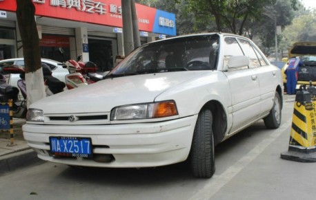 Spotted in China: Hainan-Mazda 323 (CA7130)