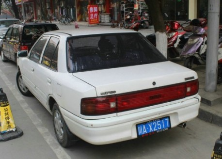 Spotted in China: Hainan-Mazda 323 (CA7130)