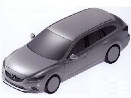 Patent Applied: Mazda 6 Estate is coming to China