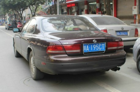 Spotted in China: Mazda 929