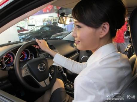 Mazda sales in China down 12.9% in 2012