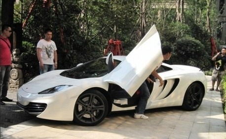 McLaren MP4-12C is Bling in China