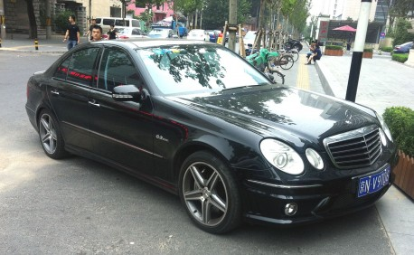 Spotted in China: W211 Mercedes-Benz E63 AMG