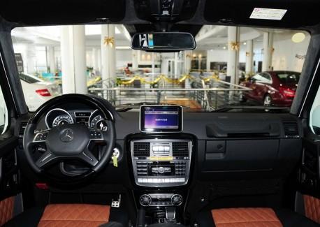 Mercedes-Benz G65 AMG arrives at the Dealer in China
