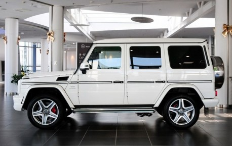 Mercedes-Benz G65 AMG arrives at the Dealer in China