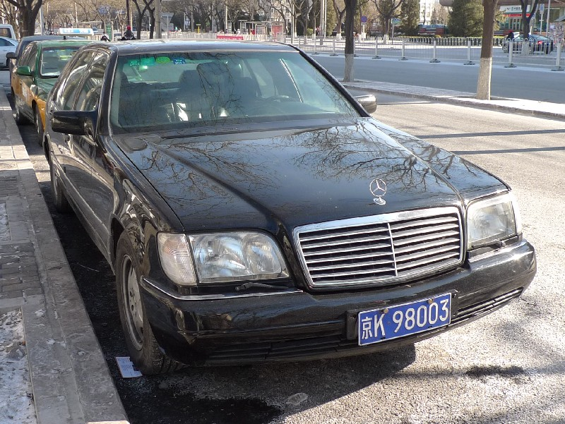 Spotted In China W140 Mercedes Benz S600 Carnewschina Com