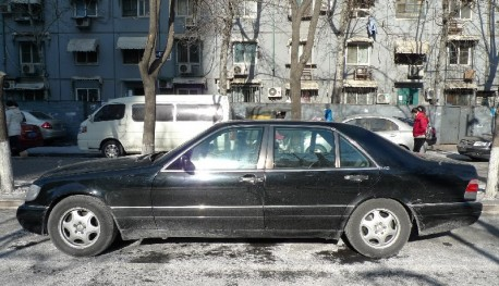 Spotted in China: W140 Mercedes-Benz S600