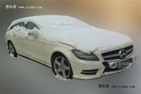 Spy Shots: Mercedes-Benz CLS Shooting Brake testing in China