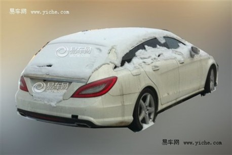 Spy Shots: Mercedes-Benz CLS Shooting Brake testing in China