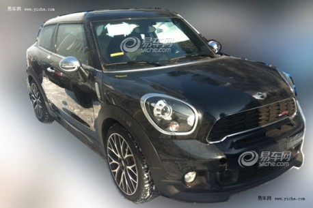 Spy Shots: Mini Paceman John Cooper Works testing in China