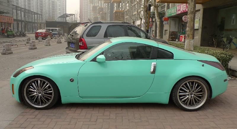 Nissan 350z Is Bluegreen In China Carnewschinacom