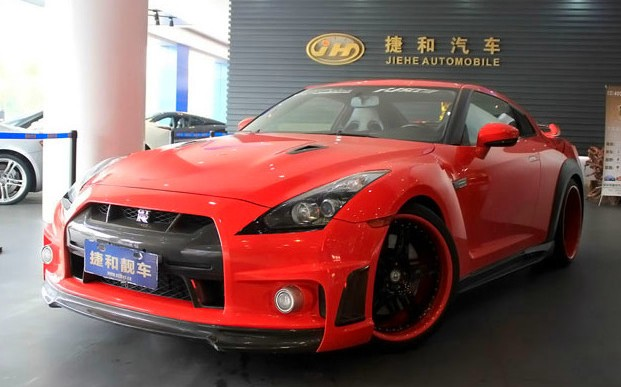 Nissan GT-R is very Red in China