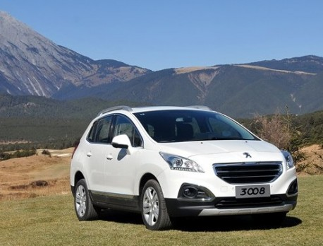 Peugeot 3008 gets a price in China