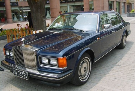 Spotted in China: Rolls-Royce Silver Spirit