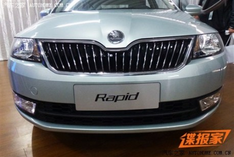 New Pictures of the China-made Skoda Rapid
