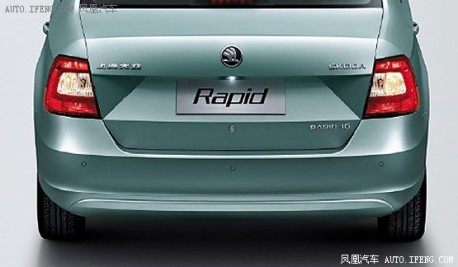 First official pictures of the China-made Skoda Rapid leak out