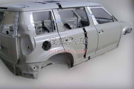 Spy Shots: stretched Skoda Yeti in the factory in China