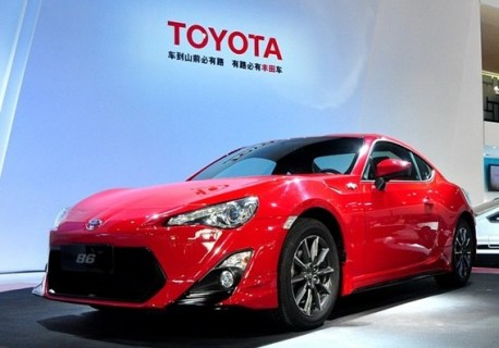 Toyota GT86 will hit the Chinese car market in March