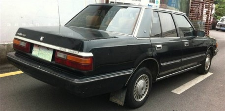 Spotted in China: S120 Toyota Crown