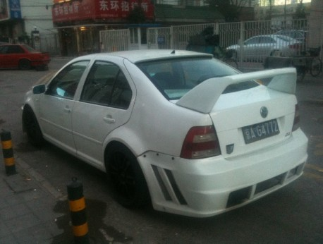 Volkswagen Bora is Pimped in China