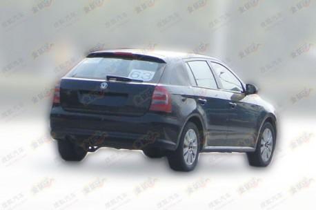 Spy Shots: Volkswagen Lavida Variant is ready for China