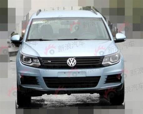 Spy Shots: Volkswagen Tiguan Blue Motion testing in China