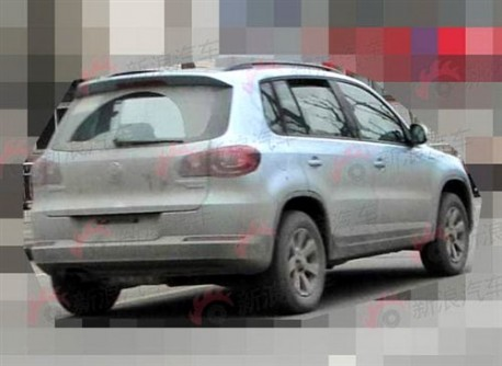 Spy Shots: Volkswagen Tiguan Blue Motion testing in China