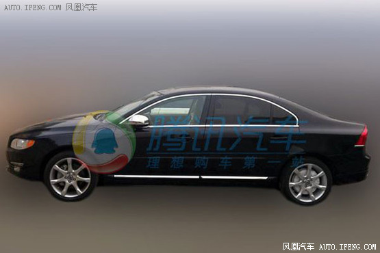 Spy Shots: facelifted Volvo S80L seen testing in China again