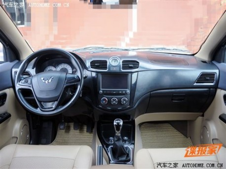 Spy Shots: facelifted Wuling Hongguang MPV naked in China
