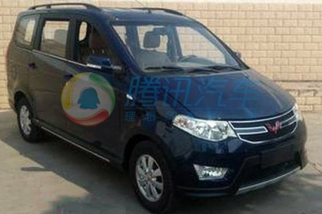Spy Shots: facelift for the Wuling Hongguang MPV