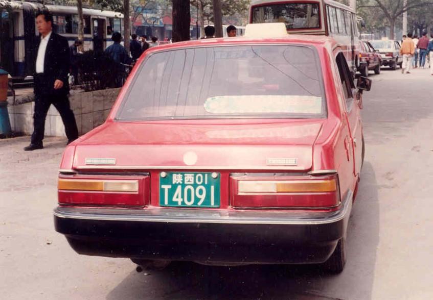 China Car History: The Yemingzhu YMZ 5010 X From Chengdu