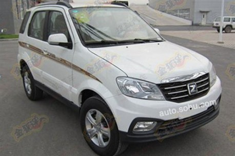 Spy Shots: facelifted Zotye 5008 is Naked in China