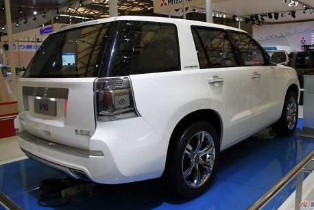 Beijing Auto B90 SUV will see production in 2014