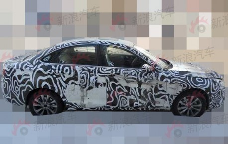 Spy Shots: Beijing Auto C50E seen road testing in China
