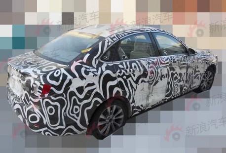 Spy Shots: Beijing Auto C50E seen road testing in China