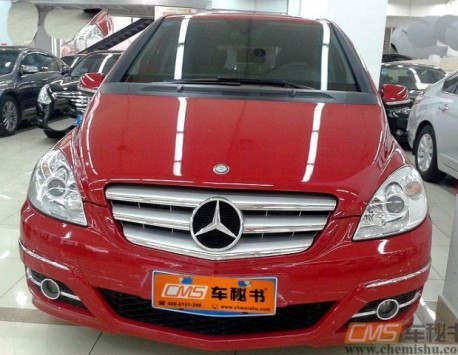 Beijing Auto E-Series is a Mercedes-Benz B-Class
