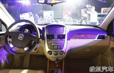 Facelifted Buick Excelle launched on the China car market