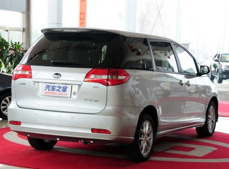 Facelifted BYD M6 hits the Chinese auto market