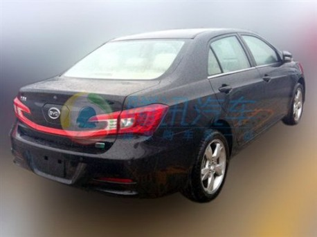 Spy Shots: BYD Qin seen testing in China
