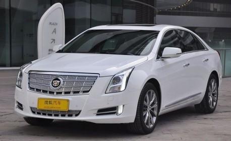 Cadillac XTS hits the Chinese auto market