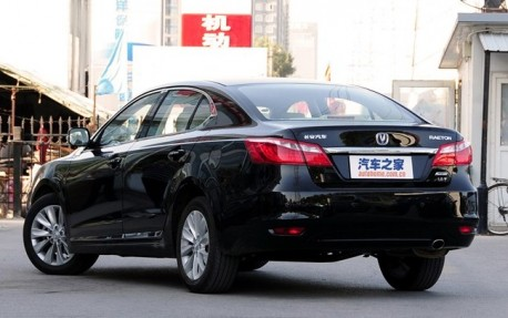 Chang'an Raeton will be launched on the China car market in March