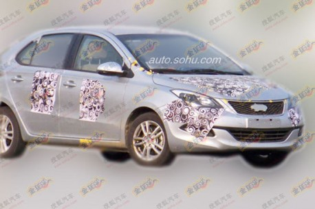 Spy Shots: Chery A2 showing some more in China