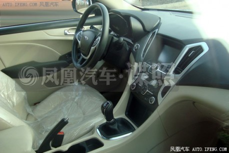 Chery A4 will debut on the Shanghai Auto Show