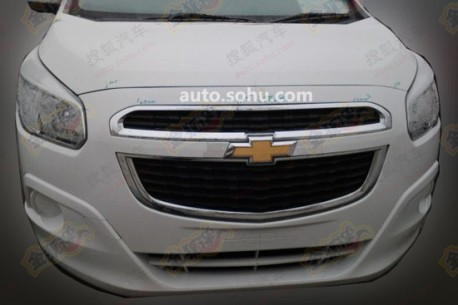 Spy Shots: Chevrolet Spin testing in China