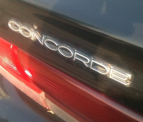 Spotted in China: Chrysler Concorde